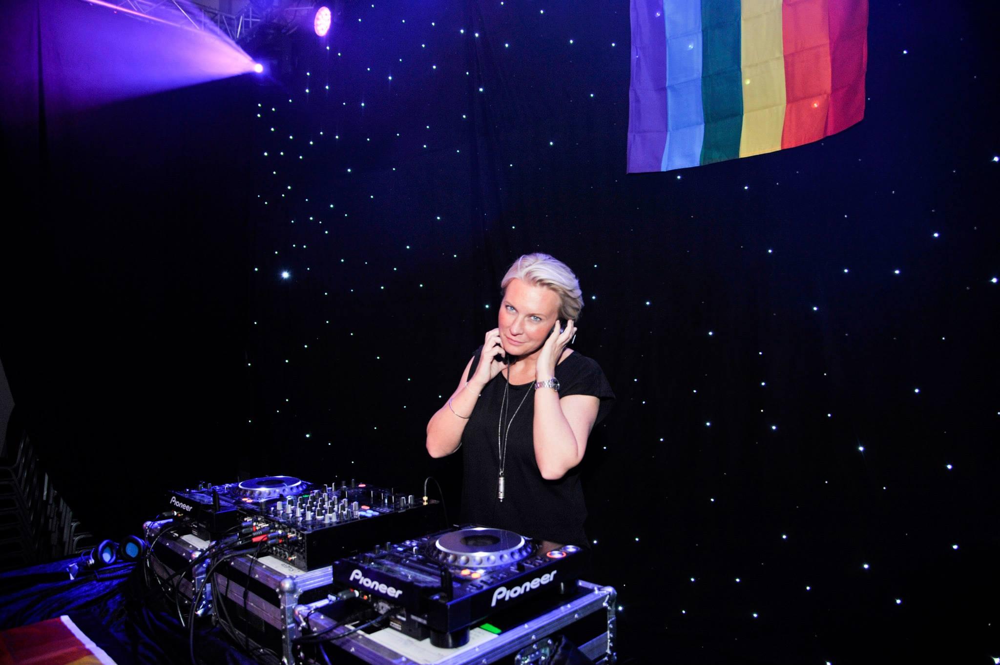 DJ Fride in CA